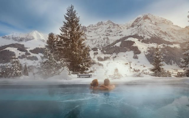 IN PICTURES: Six swimming pools with stunning mountain views in Switzerland