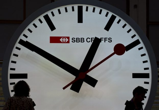 Seven fun facts about Switzerland's famous train station clocks