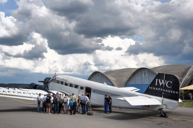 Swiss vintage Ju-52 planes banned from commercial flights
