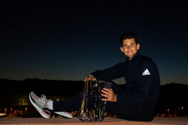 Tennis: Thiem rallies to deny Federer record sixth Indian Wells title