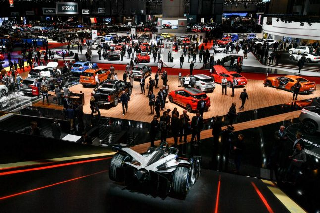 Automakers seek to electrify Geneva car show, fight off gloom