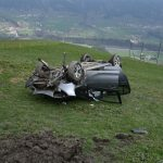 Swiss 51-year-old driver survives 20-metre car leap after accident