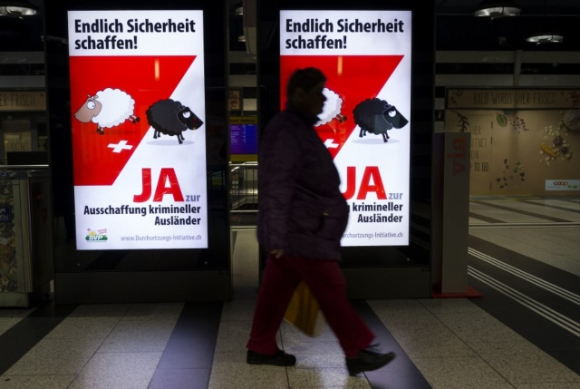 Seven out of ten foreign criminals deported from Switzerland