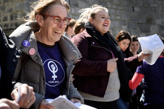 Swiss women to strike for equal pay in historic protest
