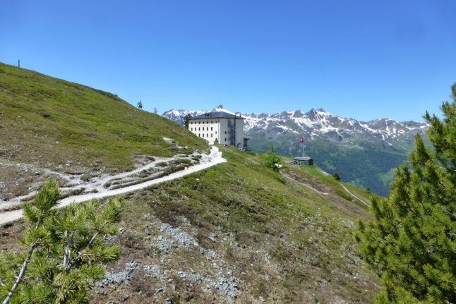 Room with a view: The stunning Swiss beauty spots to wake up in this summer