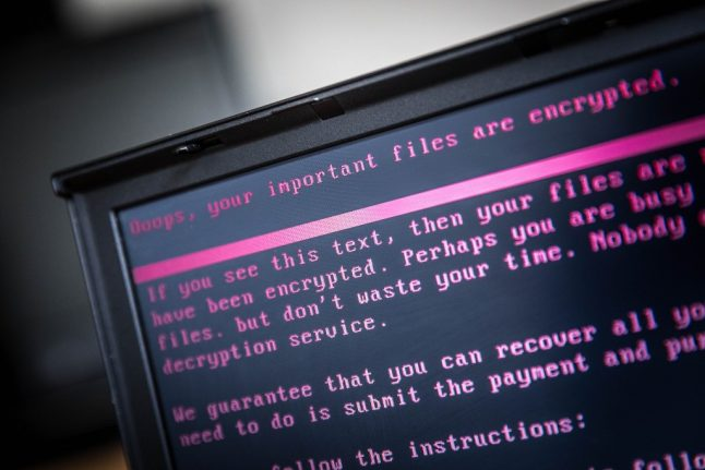 Zurich police warn of rise in ransomware attacks