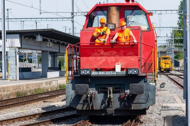 How to get your hands on a real Swiss train