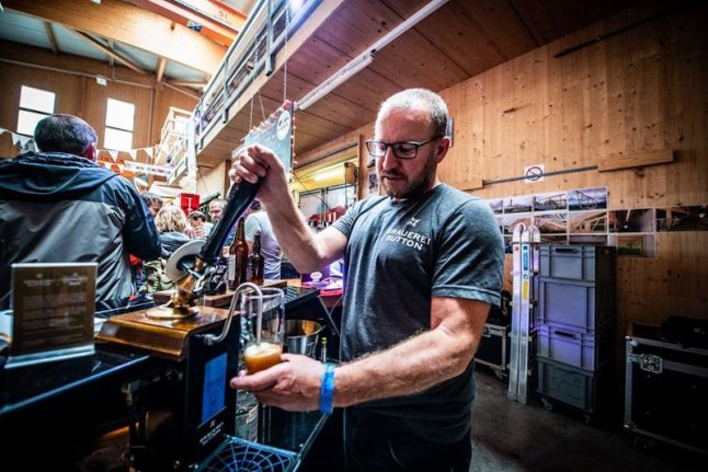 Meet the British brewer selling English-style beers to the Swiss