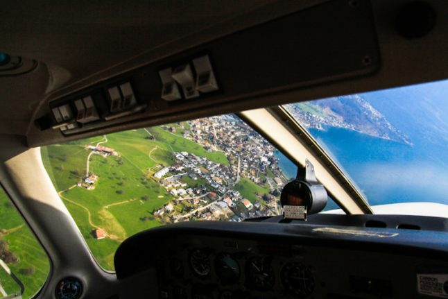 Swiss pilots grounded for not speaking English