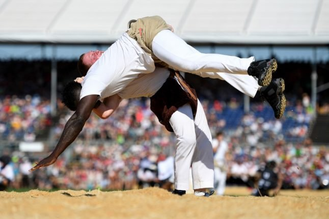 Swiss wrestling: The most famous sport you've never heard of