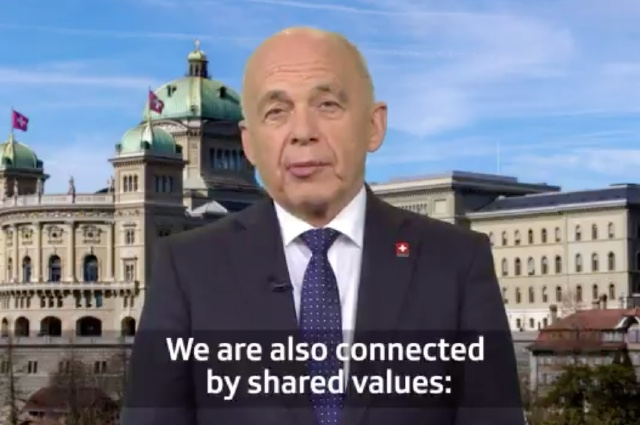Swiss president hails national value of… 'punctuality'