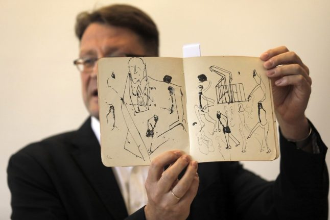 Saved from a Swiss bank vault: Missing Kafka papers finally find home in Israel