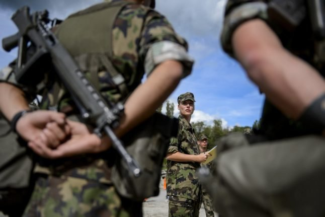 Swiss military to launch major counter-terrorism exercise in and around Geneva