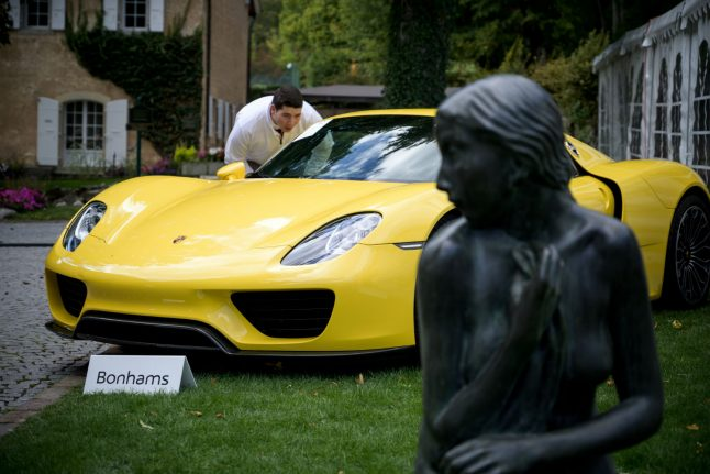 Millions raised as Swiss auction supercars seized from 'playboy' African leader