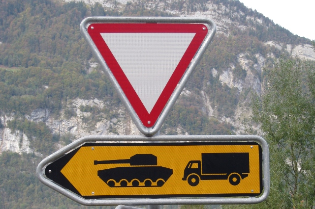 Ten strange Swiss road signs you need to know about