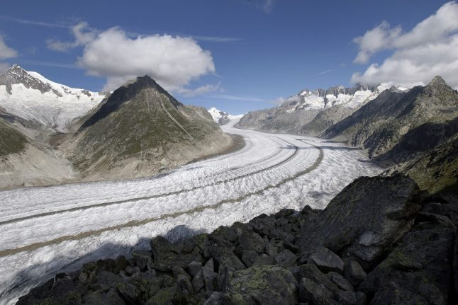 WATCH: 3D models show how climate change could shrink Swiss Aletsch glacier