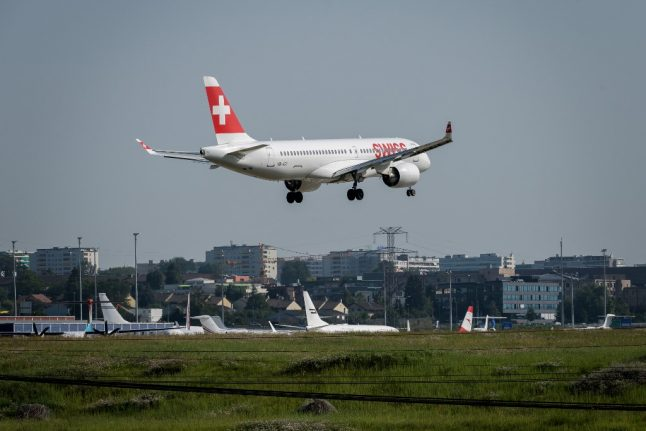 Swiss airline grounds its Airbus fleet over 'technical problems'