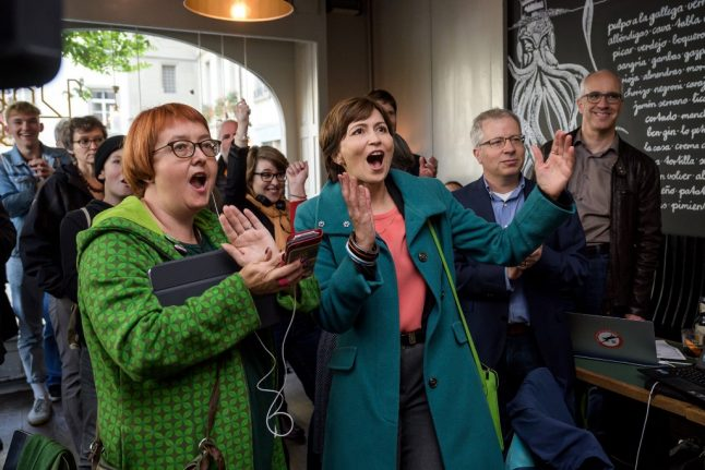 Record number of women elected to Swiss parliament