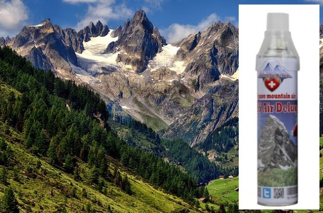How 'absurd': The pure Swiss mountain air shipped to Asia's pollutedcities