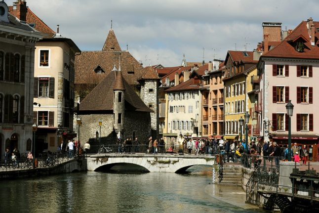 Why Annecy is the 'best place to live in France' (and Switzerland)