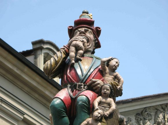 Did you know? This Swiss town has a statue of an ogre eating babies and nobody knows why
