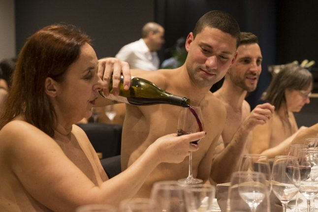 Food in the nude: Switzerland to get its first naked restaurant