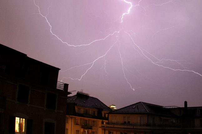 Why do storms in Switzerland have two names?