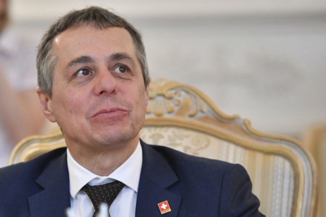 Swiss foreign minister: European cooperation will stop coronavirus not closed borders