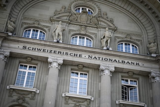 Swiss central bank expects 'negative' growth for 2020