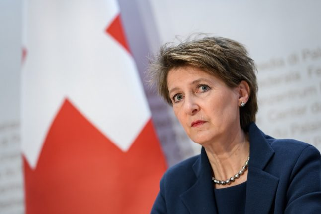 Swiss president: Older people won't be confined indefinitely
