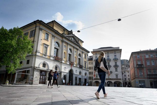 Coronavirus: Swiss canton Ticino reports no new fatalities or infections for first time since February