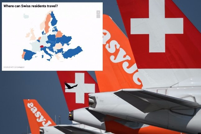 Calendar: When can Swiss residents travel abroad this summer?