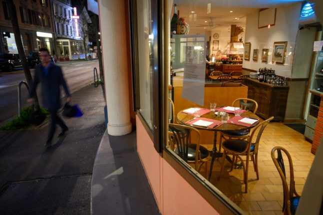Swiss cafes and restaurants 'hike prices' and add coronavirus surcharge