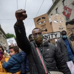 IN PICTURES: Powerful images from anti-racism protests across Switzerland