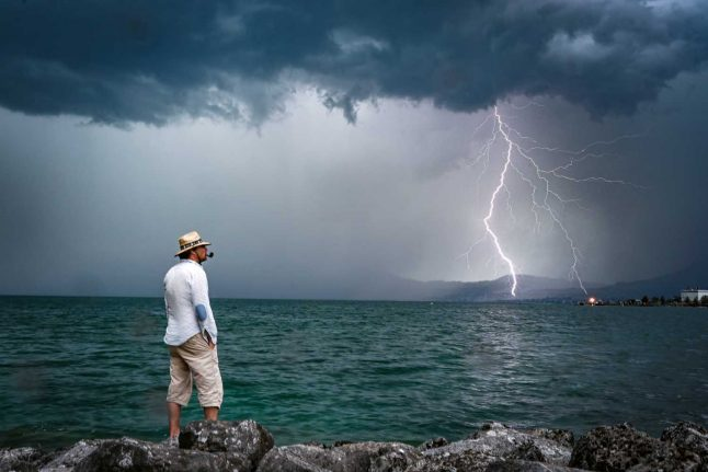 Weather: 'All of Switzerland' at risk of 'violent' thunderstorms from Tuesday evening