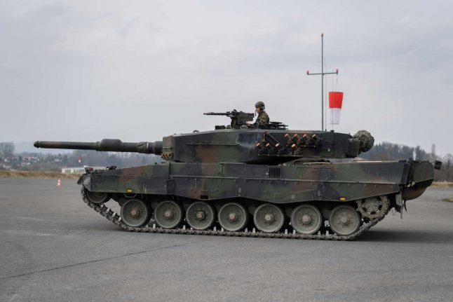 Swiss arms exports double in 2020