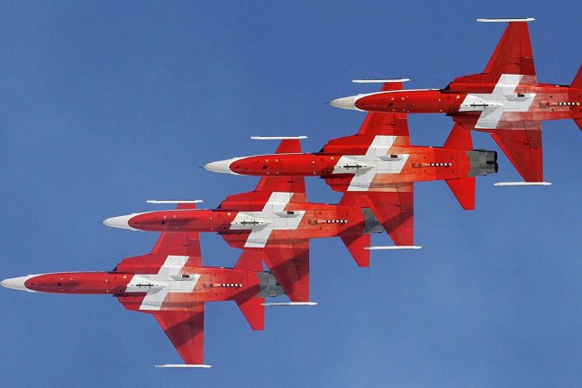 'No Trump fighter jets': Swiss don't want to buy American planes