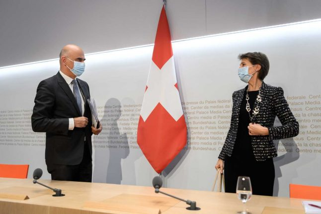 Switzerland announces sweeping new Covid-19 restrictions
