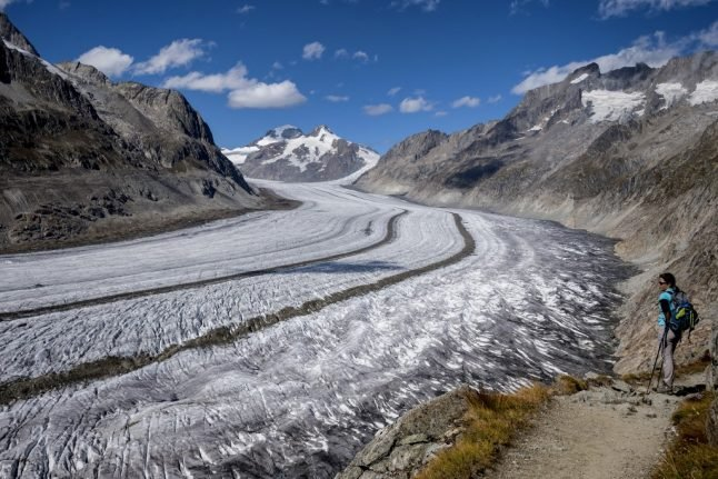 Switzerland's shrinking glaciers hit by record-low snow accumulation
