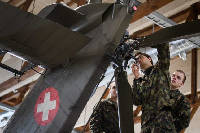 Swiss weapons exports up 38 percent despite pandemic