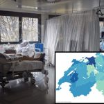 MAP: Just how full are Switzerland's intensive care units in each canton?