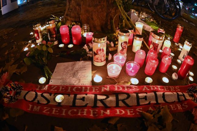 Two arrested in Switzerland over Vienna attack