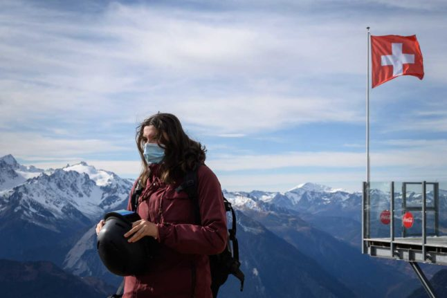 UPDATED: How much can I be fined for failing to wear a mask in Switzerland?