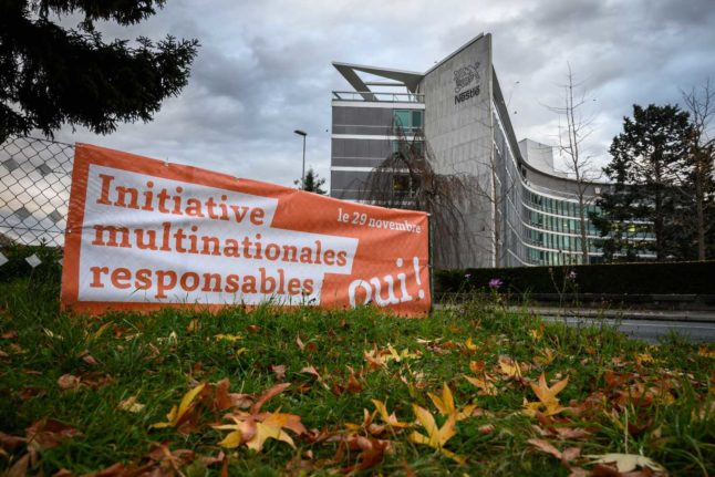 Everything you need to know about Switzerland's 'corporate responsibility' referendum