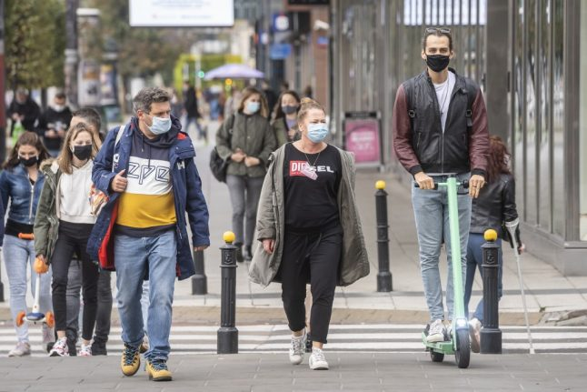 Covid-19: Why masks must now be worn outdoors in Switzerland
