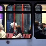 How do Covid-19 restrictions impact public transport in Switzerland?