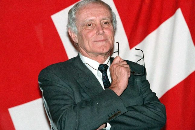 Former Swiss president dies from Covid-19