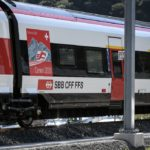 Where can you travel by international train from Switzerland this Christmas?