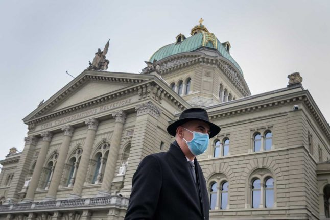 What stricter coronavirus measures is the Swiss government considering?