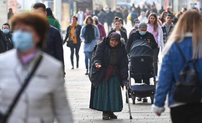 Switzerland condemned by rights court over fine for beggar